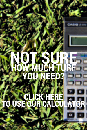 Click here to use our turf calculator