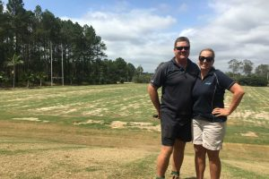 Talking turf on the Sunshine Coast
